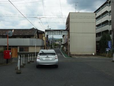 櫟本駅前の風景