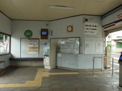 帯解駅舎内写真その2