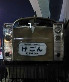 東武博物館のカットモデル