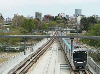 国際センター駅から仙台市街地方面
