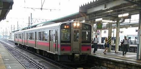 大曲駅・休日の朝