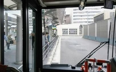 京都駅B3乗り場。