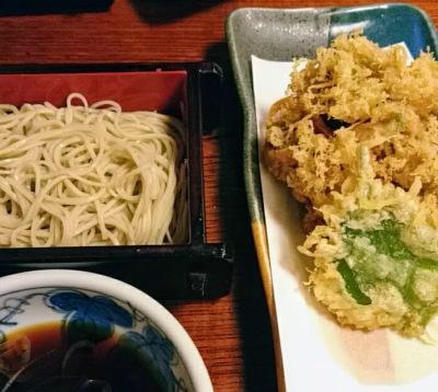 桜海老蕎麦(もり)