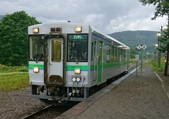 始発列車。