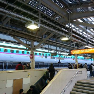 新幹線に乗る気は無かった
