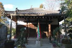 妙観寺の本堂。