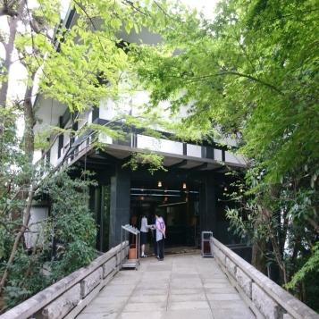 記念館本館入口